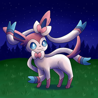 Sylveon by FinnishPokemonFan96