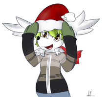 Shaymin Merry Christmas by almaustral