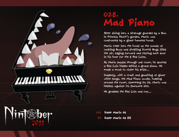 Nintober 028. Mad Piano by fryguy64