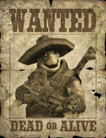wanted poster the looten duke by The-Architetcer