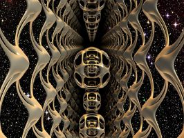 time tunnel by Oxnot