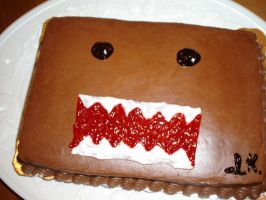 Domo cake by Desert-Flower