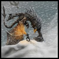World Eater VS Dovahkiin by Jessismith