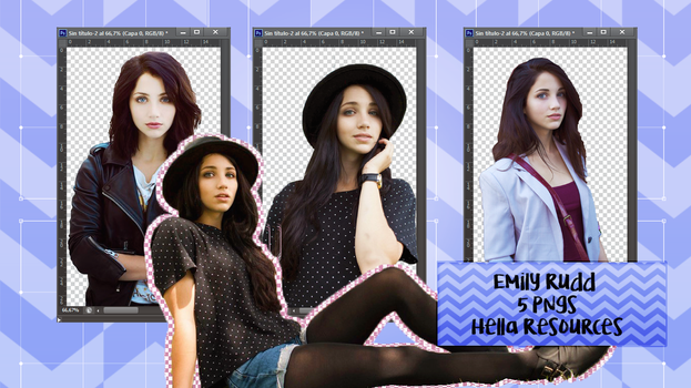 Pack png [Emily Rudd] by voidxprescott