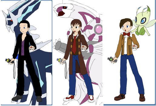 The Doctor with his Pokemon by 516tigergirl