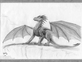 09.11 Dragon by axe-ql