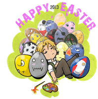 Happy Easter 2013 FMA by OrangeQbe
