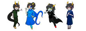 God Tier Fantrolls by CrispyCh0colate