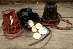 13th C. Coin pouches by TempusSidereal