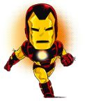 Neo Classic Iron Man in color by Axl-316