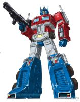 IDW OPTIMUS PRIME Banner by GuidoGuidi
