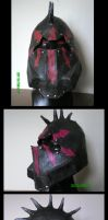 Chaos warrior helmet by pwcca87