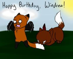 Happy Birthday Windrea! by AskCloudmist