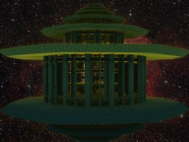 Lysergica : A green Temple for the flowering Lady by PhotoComix2