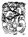 Welcome to the Mushroom Kingdom by MidnightFrog