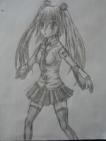 Miku Hatsune cute as ever by Hinyness