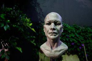 Sculpture: Male Bust 01 by JessicaDru