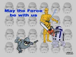 May the Force be with us by SH1ft-R
