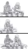 Sketched R.A short 2 by hyucaze