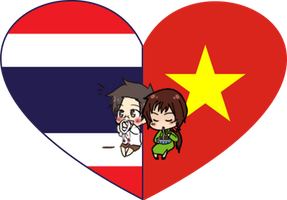 ThaiViet Shimeji Heart by LadyAxis