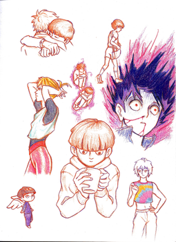 MP100 Doodles by uncannycookie