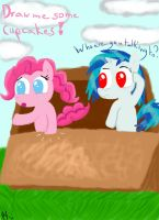 Pinkie and Scratch 1 by PinkieSurprise