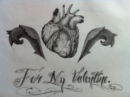 For My Valentine by Evilrj