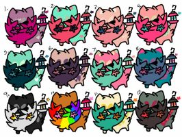HUGE 12 BATCH OF OTAS ON LAMPCATS [0/12 OPEN] by Sergeant-Curtis