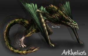 Arkhelios / Forest Annihilator by AquariusStudios