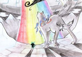 Okami Contest: End of the Road by krokus00
