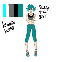 Color Scheme Revealed _KimmieKat97_ by The-Insane-Puppeteer