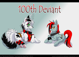 The 100th Deviant by InuHoshi-to-DarkPen