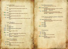 CAFE Nagua Menu: inside by spen