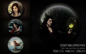 Disney wallpaper pack by Amandia