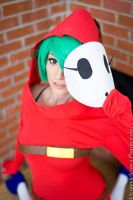 Shy Guy Female Cosplay (Shy Girl)- Magfest 2015 by ByndoGehk