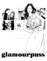 glamourpuss comixpress ad art by Dave-Sim
