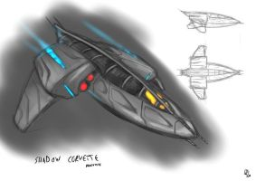 Shadow Corvette by s0lar1x