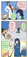 Cave Story 4koma 3 by hydrowing