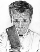 Gordon Ramsay by emilyr103