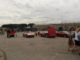 MCAS Airshow 2015 Pics- Line of Corvettes by DRYeisleyCreations