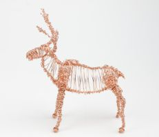 Sven the reindeer by peevelmouse