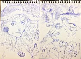 Project: OPUS Pen Sketches 3 by MicahJGunnell