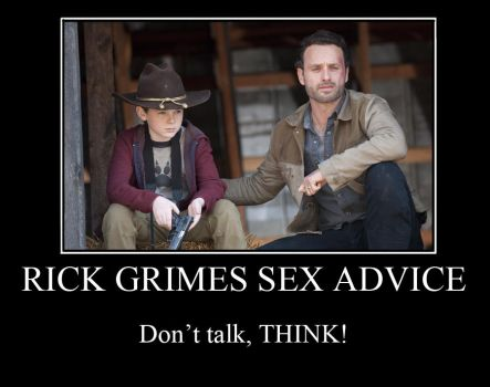 Rick Grimes Advice To Carl by FluffyPocket