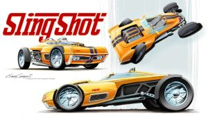SlingShot future roadster by GaryCampesi