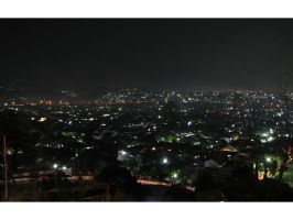 semarang at night by yoxx