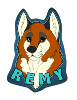 Remy Badge - prize by Kium
