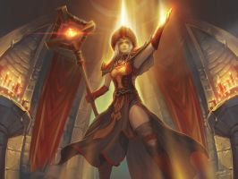 High Inquisitor Whitemane by YanmoZhang