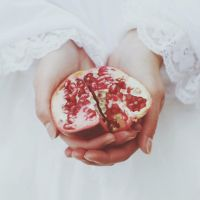 My pomegranate by LinaSaks