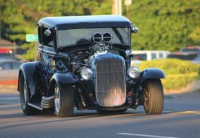 Old school hot rod by finhead4ever