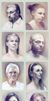 Portraits by escume